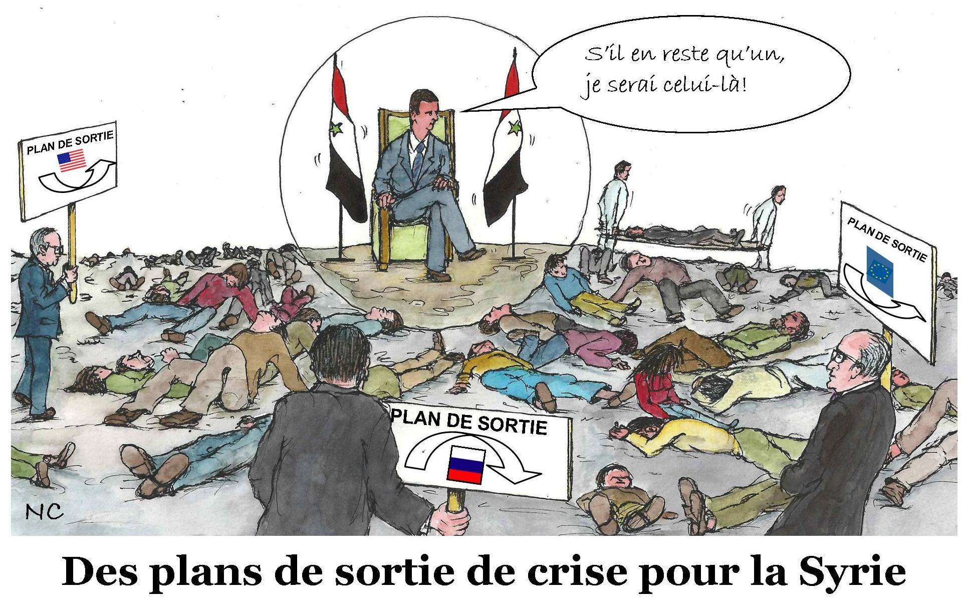 Crise en Syrie