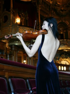 Zhang Zhang at Opera Garnier