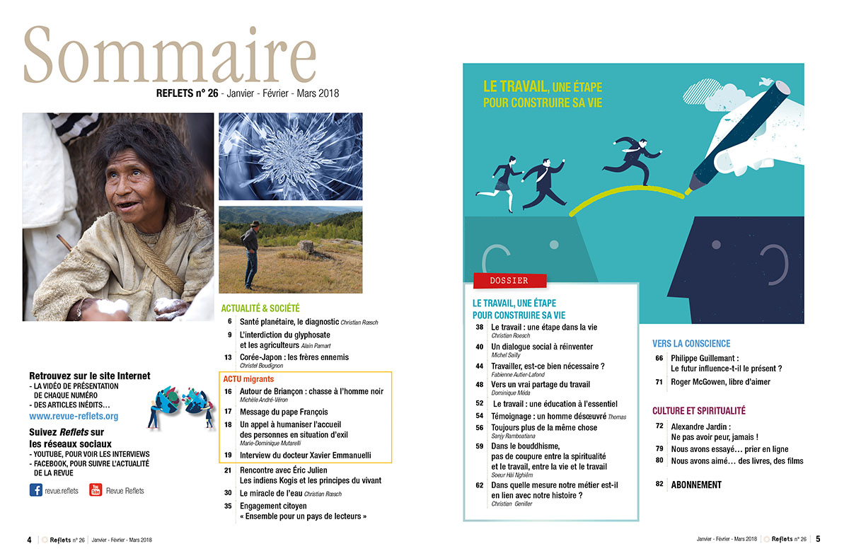 Sommaire Revue Reflets n°26