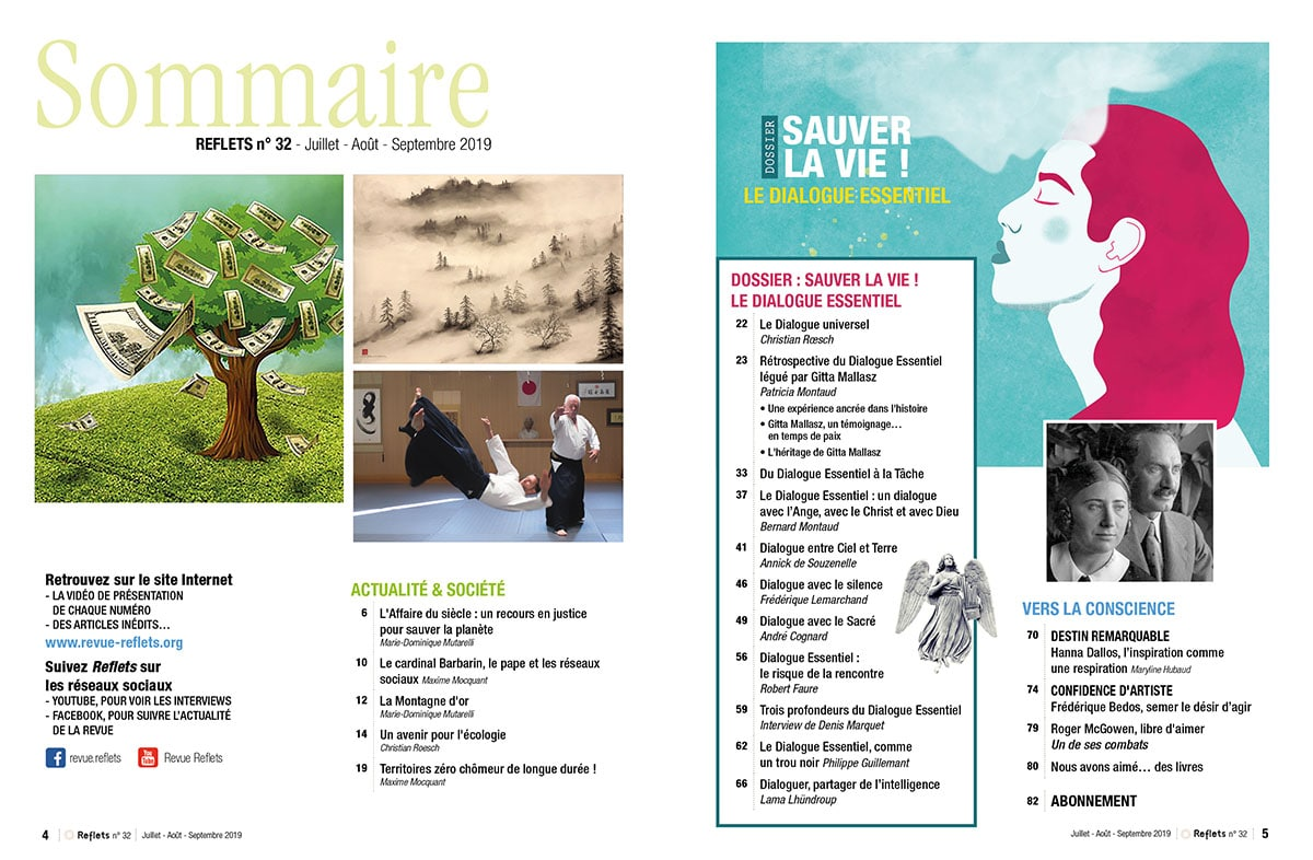 Sommaire Revue Reflets n°32