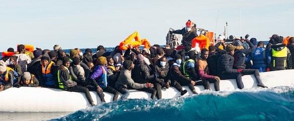 tous les rescapés ont été mis en sureté à bord de l'Ocean Viking