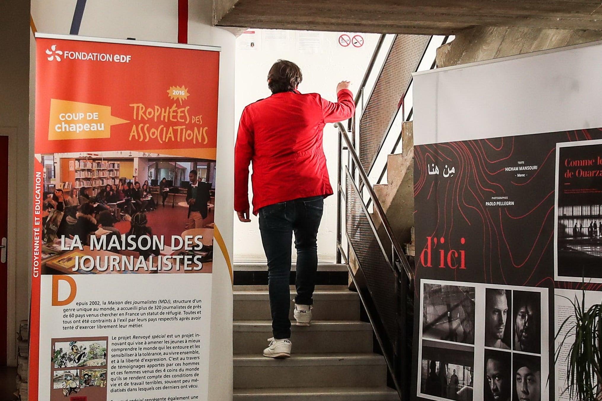 Read more about the article LA MAISON DES JOURNALISTES, un refuge pour journalistes exilés